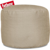 The Point Stonewashed Bean Bag Pouf Stool 35x50 Sand Suitable for Indoor Use - Fatboy The Original Bean Bag Pouf Stool Range