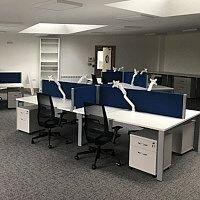 Progressive Genetics Office Fitout Project by HuntOffice Interiors
