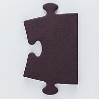 Puzzle Modular Acoustic Wall Panel 1005x600mm Large Edge