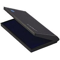 Q-Connect Large Stamp Pad Metal Case Blue KF15438