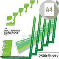 Q-Connect Printer Paper A4 80gsm White Box of 5 Reams