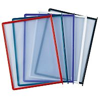 Q-Connect Quick Finder Pocket Assorted Pack of 10 KF04599