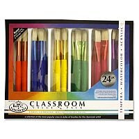 24 Piece Brush Box Set Chubby Early Learning