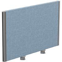 Sprint Eco Office Desk Screen Straight Top W800xH480mm Light Blue
