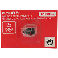 Sharp EL 1607p Adding Machine Ink Red