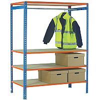 Simonclick Garment Unit Extra Shelf Orange 378911