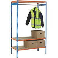 Simonclick Garment Unit Extra Shelf Orange 378927