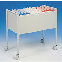 Economy Suspension File Trolley To Fit 80Xfoolscap Size Suspension Files