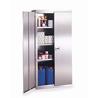 Stainless Steel Cupboard H 1800mm