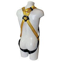 Fall Arrest Harnesses Rescue Harness Specially Designed For Confined Areas Size Up To 48 In Chest Yellow