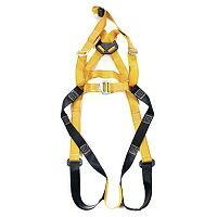 Fall Arrest Harnesses Rescue Harness Specially Designed For Confined Areas Size 48-54 In Chest Yellow