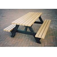 Recycled Outdoor Picnic Table