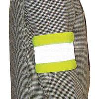 Hi-Visibility Yellow Reflective Armbands Pack of 10