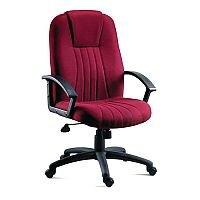 scribed oak effect home city fabric upholstered executive office armchair burgundy scribed oak effect retro finish home desk huntofficeie