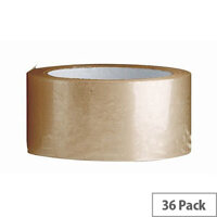 Low Noise Polypropylene Tapes 48mm x 66m Pack of 36