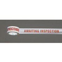 Message Tape Awaiting Inspection Pack of 36