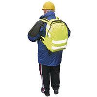 Hi-Visibility Backpack Yellow Rucksack