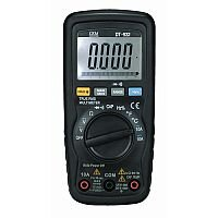 Auto Ranging Digital Multimeter With Soft Zip Carry Pouch 2 Test Leads Battery And K Type Temperature Bead Probe