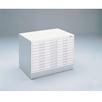 A0 Plan File Full Height 10 Drawer Filing Cabinet Grey