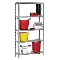 Bolted Shelving Pack Painted Steel 300mm Deep
