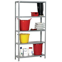 Bolted Shelving Pack Painted Steel 400mm Deep