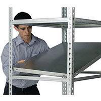 Standard Duty Galvanised Boltless Shelving Additional Shelf WxDmm 1200x400