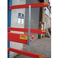 Heavy Duty Bolted Cantilever Racking End Stop 250mm Tall Kit Consists Of 1 x Base Stop And 3 x Arm Stops