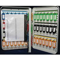 Key Cabinet With Key Lock 63 Key Capacity