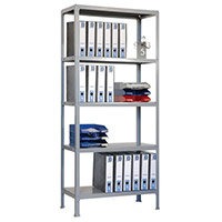 Lever Arch Shelving 2000mm High With 5 Shelves