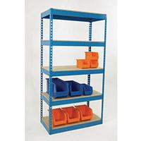325Kg Chipboard Deck Shelving HxWxDmm 1800x900x450