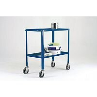 Two Tier Service Trolley With Handle At Both Ends Capacity 150kg