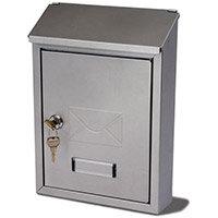 Basic Post Box Silver