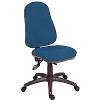 Ergo Comfort 24 Hour High Back Task Operator Office Chair Blue - Weight Tolerance: 120kg