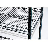 Black Anodised Wire Shelving Extra Shelf 1220mm Wide