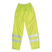 Hi-Visibility Trousers Yellow Waist Size 44 Inch XXXL