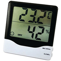 Thermo-Hygrometer Temperature and Humidity Readings