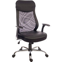 Contemporary Curve Mesh Executive Office Chair