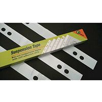 Suspension Tape A0 2 Hole Self Adhesive Plan Strips Pack of 100