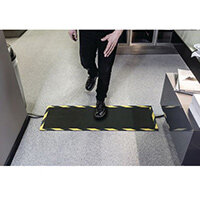 Cable Protector Mat, For Indoor Or Outdoor Use