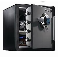 Masterlock Security Safe Large Safe Capacity 34L 2hr Fire Protection Black