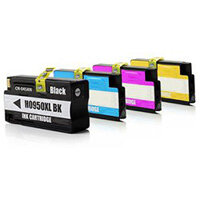 Compatible HP 950XL Inkjet Cartridge Multi-Pack C2P43AE 4-Colour >2300 each Page Yield
