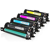 Compatible HP 504X Laser Toner Multi-Pack CE250 4-Colour >10500 each Page Yield