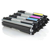 Compatible HP 126A Laser Toner Multi-Pack CE310 4-Colour >1200 each Page Yield