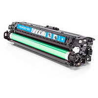Compatible HP 651A Laser Toner CE341A Cyan 16000 Page Yield