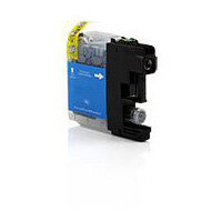 Compatible Brother Inkjet Cartridge LC121 Cyan 10ml
