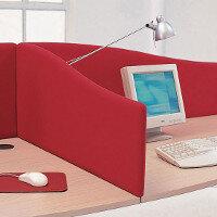 VISUAL Universal Upholstered Desk Screens