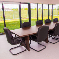 West Limerick Childrens Services Boardroom Fit-Out and Furnishing by Huntoffice Interiors